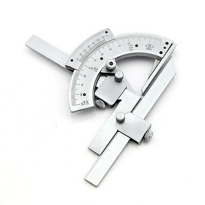 Universal Bevel Protractor #G 0-320° Angular Dial Stainless steel angle Gauge