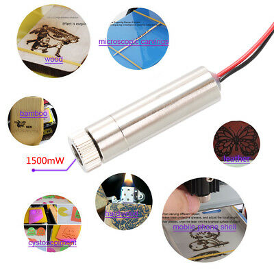1pc 1500mW Laser Diode Head Module 405nm Blue-violet Light 5V for NEJE Engraver