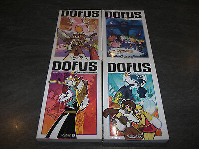 Lot Manga Livre Dofus Volumes 1 A 4 Version Francaise Ankama Edition Occasion