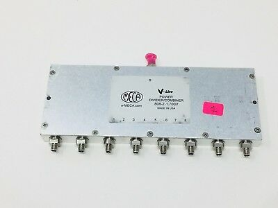 MECA V-LINE POWER DIVIDER COMBINER (.698-2.7 GHz) MODEL 808-2-1.700V (B6)