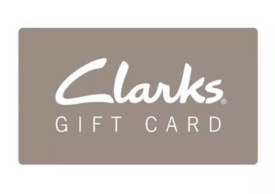 Clarks $150 Gift Card … Men's Shoes … Online & In Store… $30 Off & Free Shipping
