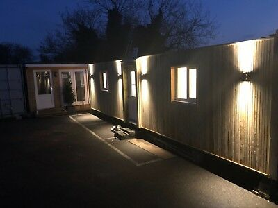32x10 Container house central heating.Garden room, annex, log cabin Mobile home