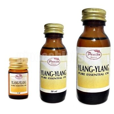 100% Pure Ylang Ylang Essential Oil 60ml, 30ml, 5ml Free Shipping