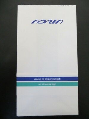 Spucktüte Adria Airways