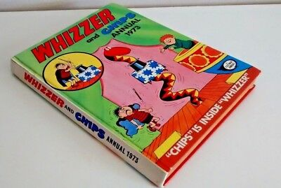 Vintage Whizzer and Chips Annual 1973 - Book
