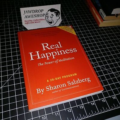 Real Happiness: The Power Of Meditation - A 28 Day Program By Sharon Salzberg
