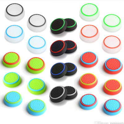 2X Controller Accessories Thumb Stick Grip Joystick Cap for PS3 PS4 XBOX ONE