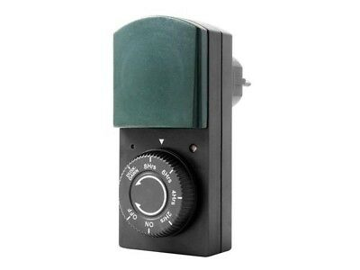 Perel E305DP G Timer with dimmer switch and Countdown Function for Outside Use G