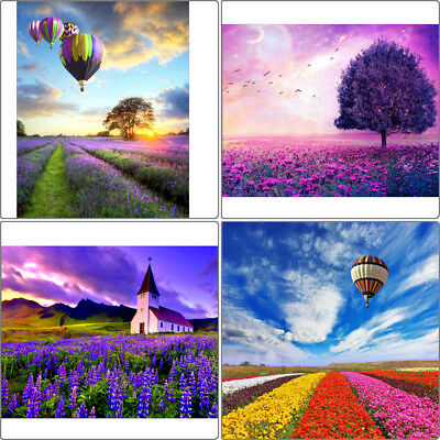 Diamond Painting Scenery With Diamond Trees Full Square Drill Embroidery BRZY