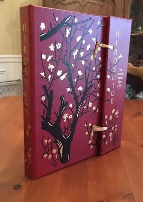 Rare Easton Press Hiroshige 100 One Hundred Famous Views of Edo Japanese Bindin