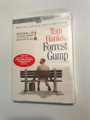 NEW Tom Hanks FORREST GUMP Special Collector's Edition DVD Shrinkwrapped