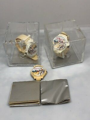 3 COCA COLA COKE WATCH SWISS MOVEMENT LIFEGUARD BEACH DIAL Works 1 Has No Band