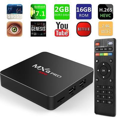 MXQ Pro MINI Android7.1 Smart TV Box 2+16GB Amlogic S905W Quad Core Media Player