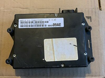 56042409ae 97 98 Jeep Grand Cherokee Body Control Module Bcm With Security Alarm