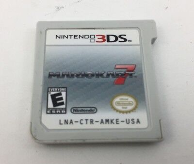 Nintendo 3DS Mario Kart 7 Game Cartridge ONLY Tested & Working