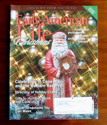 Early American Life Magazine Christmas Dec. 2007 Chocolate Pots Holiday Crafts