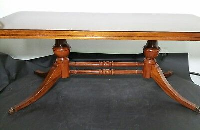 Mersman Coffee Table Style No. 1129 - Duncan Phyfe Style - Vintage/Antique