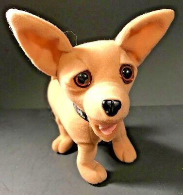 Original Talking Chihuahua Yo Quiero Taco Bell Plush Dog Works