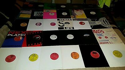 """House & Club Alot Of 30 """"12"""" Promo Vinyl Various Artists 1990's 33Rpm Vg+ To Ex"""