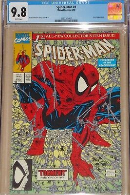 Spider-man #1 (of 5) Torment Green Ed CGC 9.8 *MINT* Todd McFarlane at his BEST!