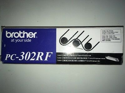 Brother PC-302RF 2 Refill Rolls... NOT GENERIC OFFICIAL