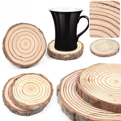 Wooden Home Decor Tea Coffee Wood Coasters Cup Pad Table Decoration Mug Mat