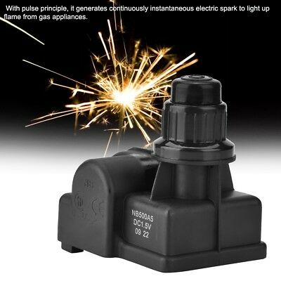 Spark Generator Push Button Igniter 3/5 Outlet AA Battery BBQ Gas Grill Ignitor