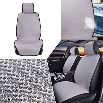 1× Universal Car Front Seat Covers Auto SUV Mesh Sponge Breathable Cushion Mat