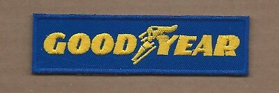 New 1 1/4 X 4 3/4 Inch Goodyear Iron On Patch Free Shipping