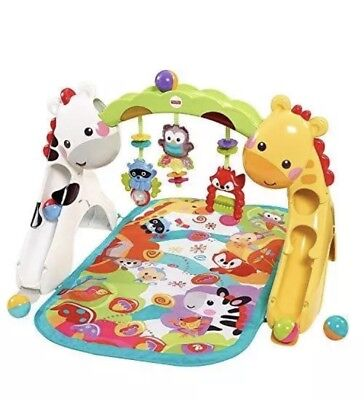 The Fisher-Price Newborn-to-Toddler Play Gym with Music N Light - Excellent Con
