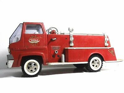 Vintage 1960's TONKA Firetruck Gas Turbine Fire Engine for Parts Restore Repair