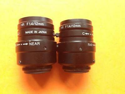 1PC USED Keyence high-resolution lens CA-LH12 HR F1.4/12MM #OH19