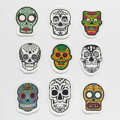 Day Of The Dead Skull Vinyl Decal Sticker Gun Mexican Life Liberty Sugar Skull