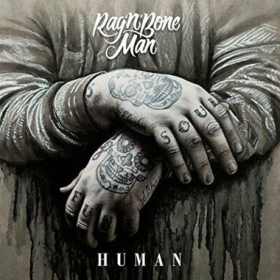 Rag N Bone Man - Human 2 Track CD Single 2016 *RARE* New