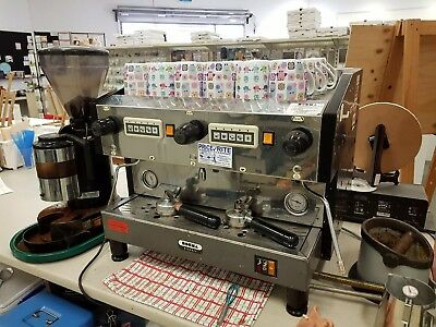 Boema Classic 2 group Industrial Coffee Machine 15AMP