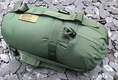 Army Lightweight Sleeping Bag & Stuff Sack Size Large Grade One Cadets Camping