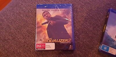 The Equalizer 2 Blu-ray BRAND NEW & SEALED