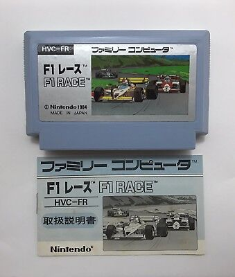Nintendo Famicom NES F1 RACE 1984 HVC-FR Japanese video game NTSC-J 002