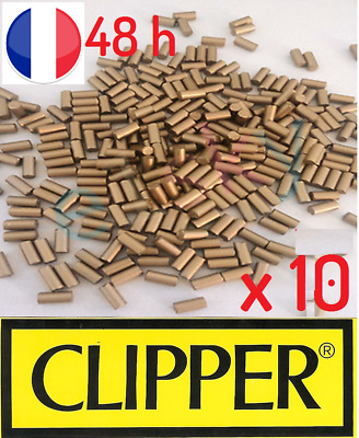 10x Pierre à briquet silex universelle pour Clipper & Zippo lighter flint PROMO