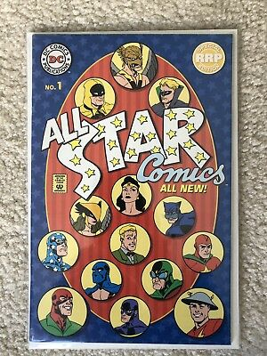 DC All Star Comics 1 1999 RRP Special Edition Rare Retailer Variant