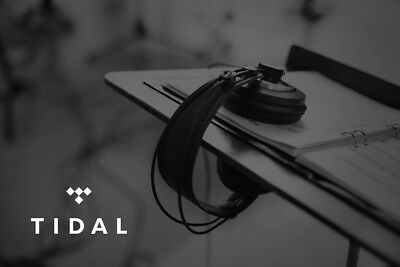 TIDAL 3 Months access SAVE £28 Premium quality same day delivery