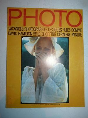 PHOTO FRENCH MAGAZINE #35 aout 1970 David Hamilton