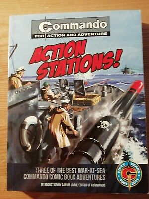 COMMANDO COMIC : ACTION STATIONS! Collection