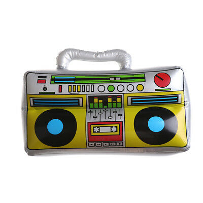 Funny Party Toy PVC Inflatable Radio Simulation Instrument Toy for Kids GiftLJ