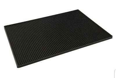 Rubber Service Bar Mat Heavy Duty Rubber Drip Mats for Home Bar Restaurant