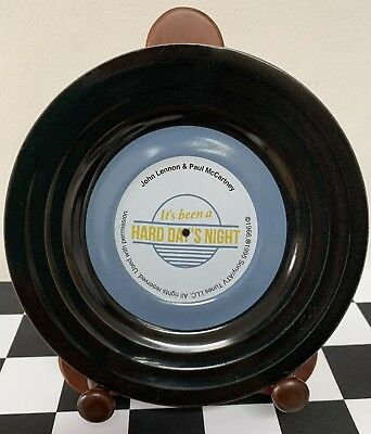 "Sony ATV Tunes LLC ""It's Been A Hard Day's Night"" Beatles Promotional Plate Rare"