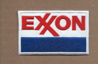 New 1 7/8 X 3 Inch Exxon Iron On Patch Free Shipping