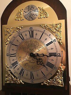 James Stewart Grandmother Clock Rare Vintage Bargain Longcase