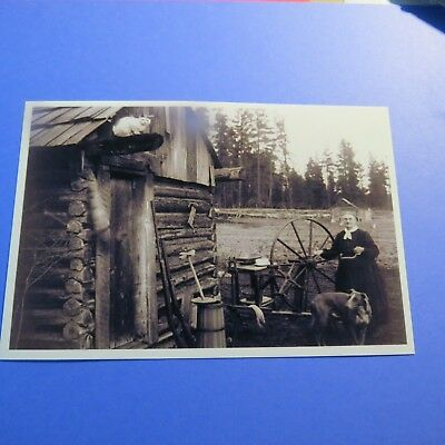 Farm Life Late 19th Century Vintage 4X6 Photo reprint PH2426