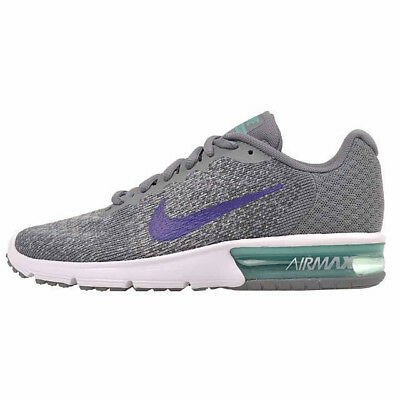 New Size 5.5 Nike Women's Air Max Sequent 2 Platinum Gr